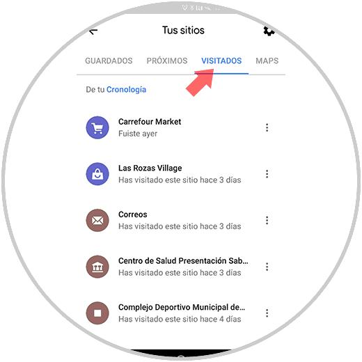 Así puedes acceder a tu historial de ubicaciones desde Google Maps