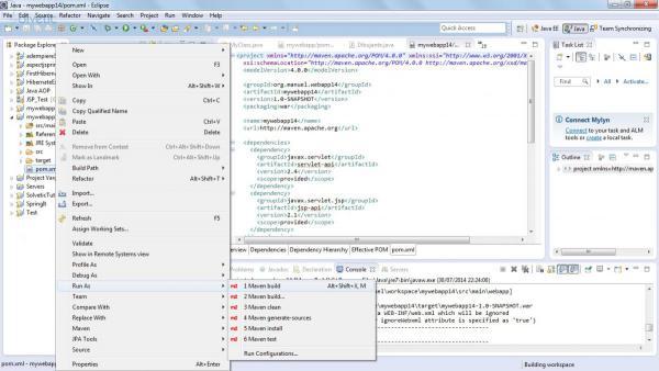 Eclipse con plugin Maven.jpg