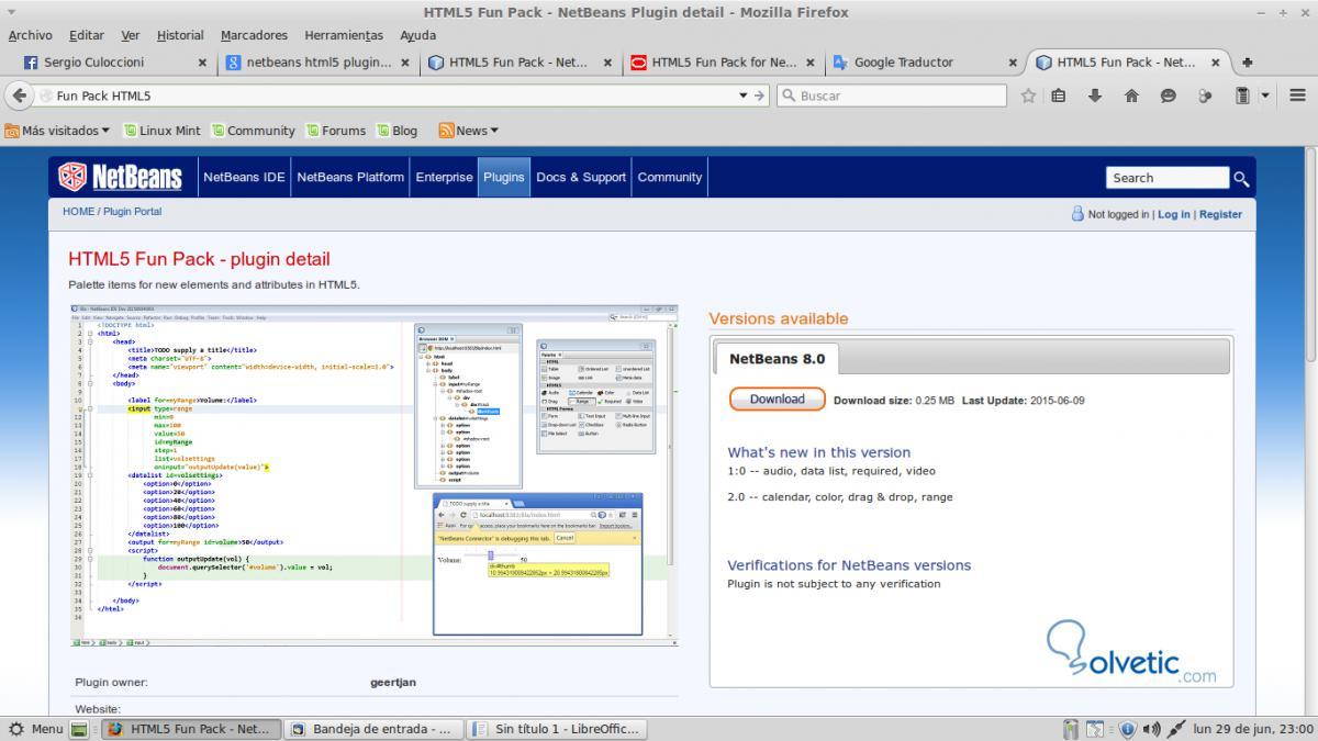 Netbeans: Crear proyectos HTML5 con plantillas y plugin - Solvetic