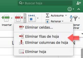 Cómo eliminar filas o columnas vacías Excel 2016 - Solvetic
