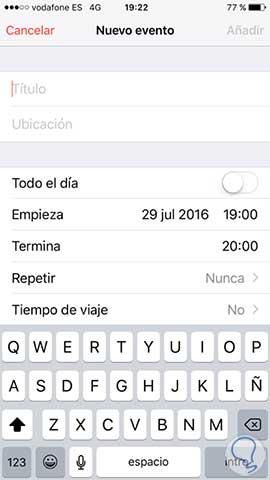 Anadir Calendario Iphone.Como Enviar Eventos Desde El Calendario De Iphone Solvetic
