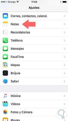 Desbloquear notas iphone