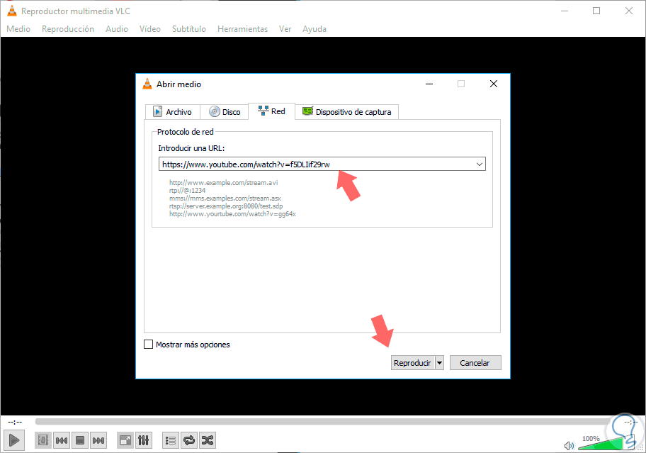 e convertire con vlc i video di youtube