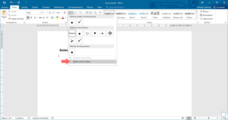Cómo añadir casilla verificación en Word 2016 Windows y Mac - Solvetic