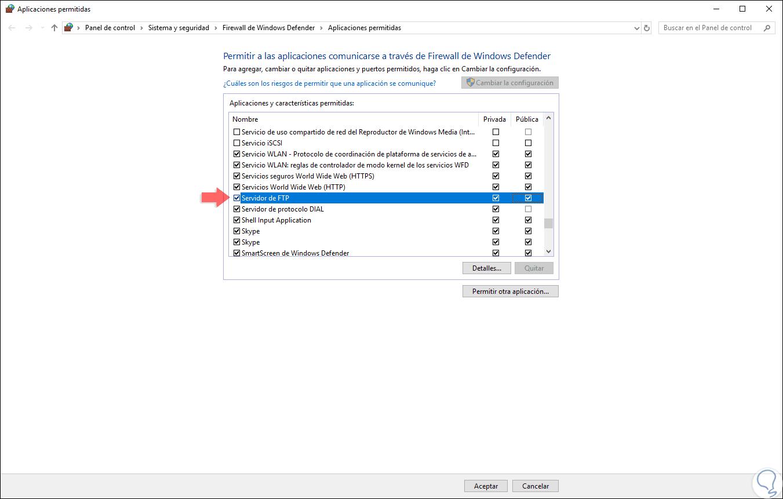 Cómo instalar y configurar servidor FTP Windows 10 - Solvetic