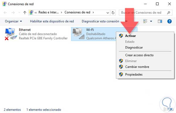 Cómo arreglar conexión red Internet y WiFi Windows 10, 8, 7
