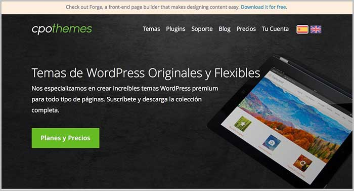 Mejores webs para descargar plantillas WordPress gratis 2017 - Solvetic