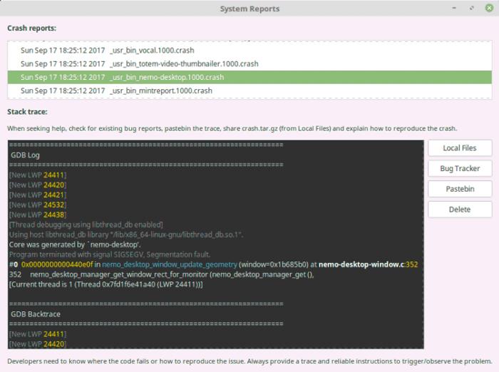 Imagen adjunta: 1-minreport-linux-mint.png