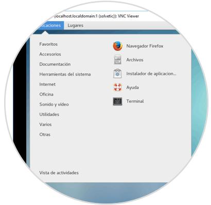 Cómo instalar y configurar VNC Server en CentOS 7 - Solvetic