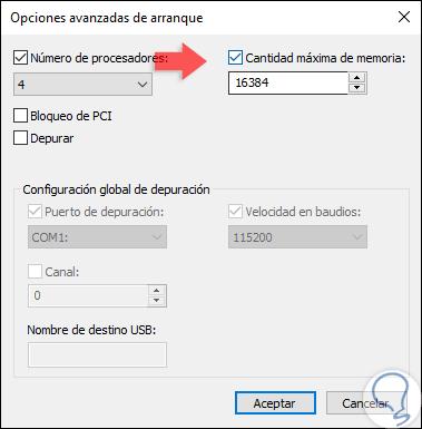 Opciones Configuración De Arranque De Windows 10 Solvetic