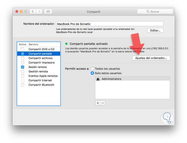 Escritorio Remoto De Windows 10 A Mac Y Viceversa Solvetic