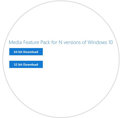 Descarga ya Media Feature Pack 1709 para Windows 10 Fall Creators N