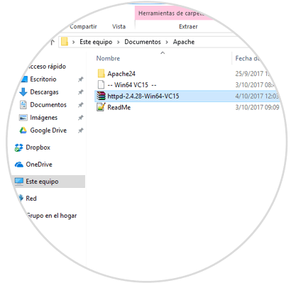 Cómo instalar manualmente Apache, PHP y MySQL en Windows 10