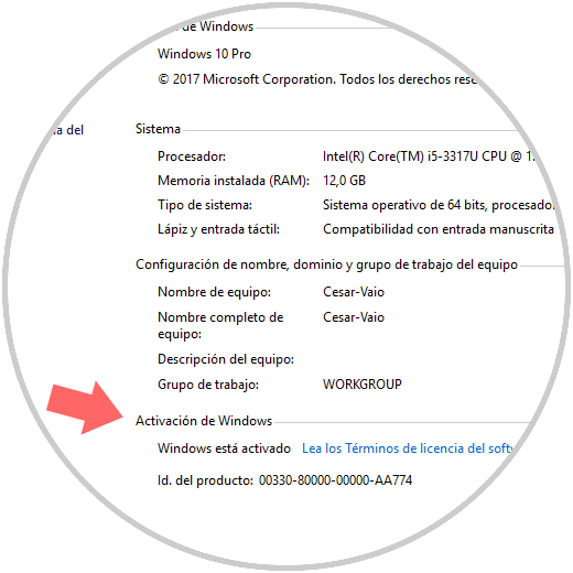 activar windows 10 pro 64 bits