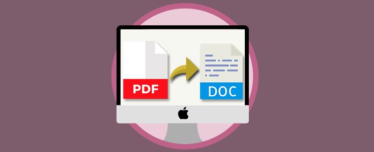 cambiar de pdf a word gratis