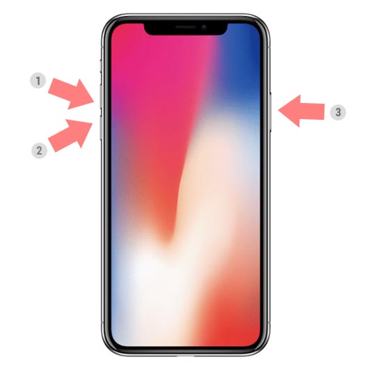 como se apaga el iphone x