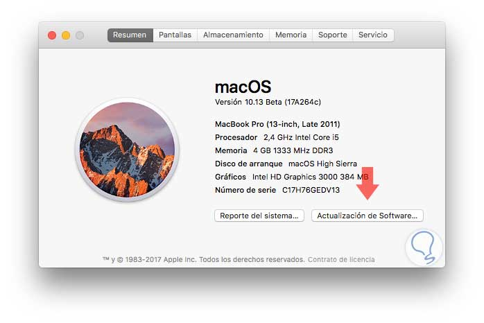 Cómo arreglar error conexión WiFi macOS High Sierra - Solvetic