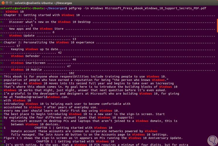 open fichier pdf in terminal linux