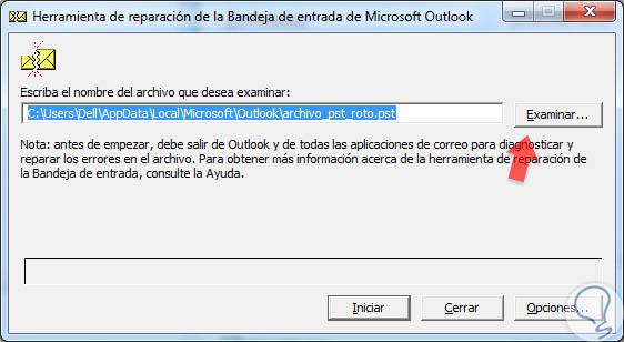 Solucionar error de archivos .PST o .OST Outlook 2016, 2013, 2010 ...