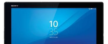 Sony Xperia Z4 tablet: Nuevo estandar