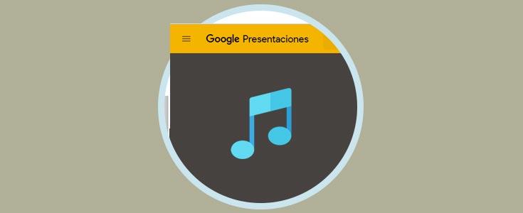 cómo añadir música en presentaciones diapositivas google slides