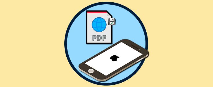 save as pdf iphone safari