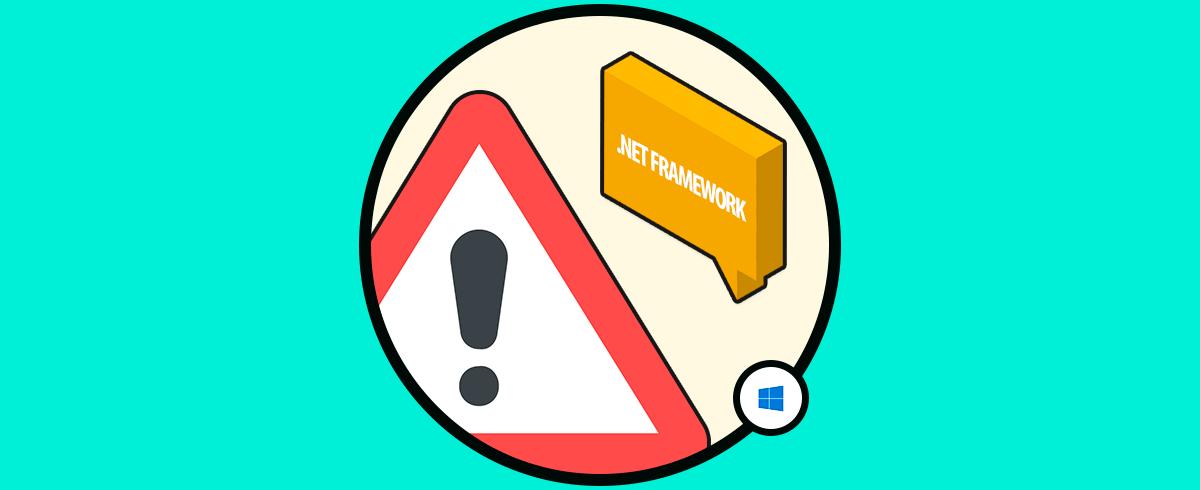 Cómo reparar error 0x800f081f  net framework 3 5 Windows 10
