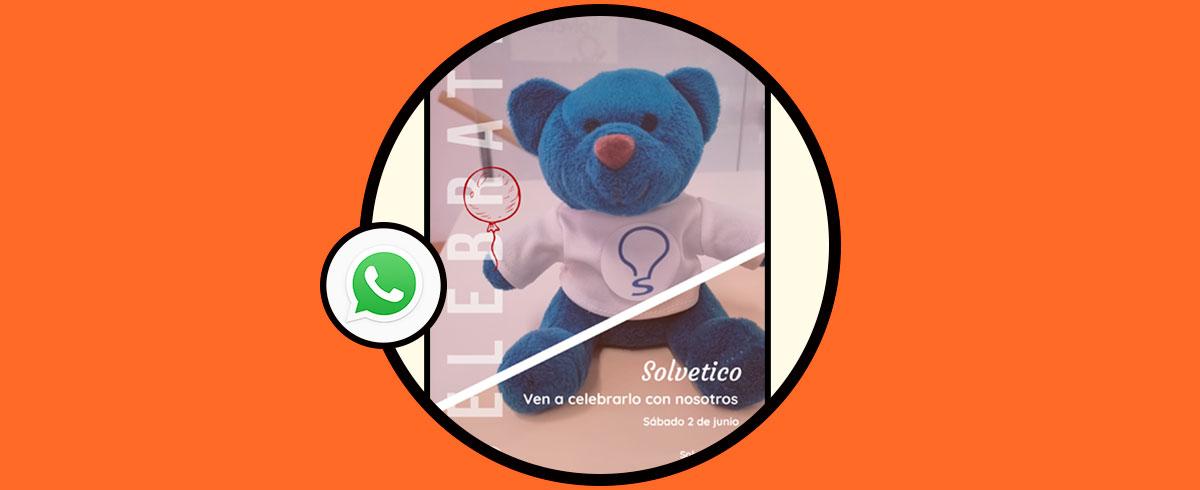 Cómo Invitar A Un Cumpleaños Por Whatsapp Solvetic