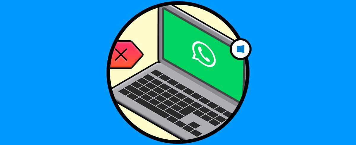 Cómo desinstalar y eliminar WhatsApp escritorio Windows 10