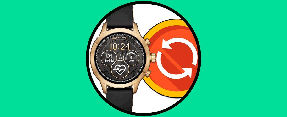 Reloj Smartwatch Solvetic Michael Desde Contestar Whatsapp Cómo Kors dCBoxer