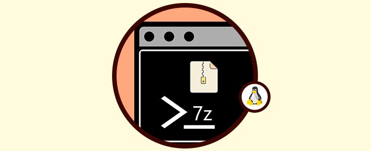 Cómo instalar y usar comando 7z 7zip para comprimir en Linux - Solvetic
