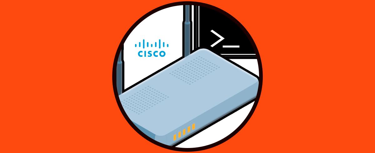 Comandos Cisco Show Solvetic
