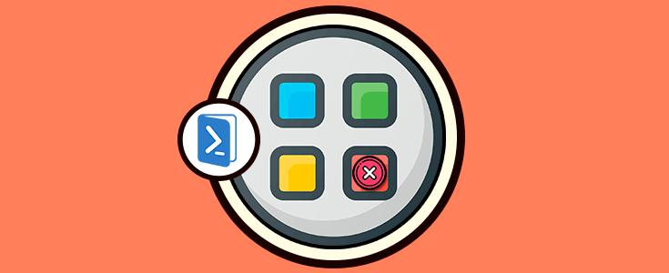 Como desinstalar Aplicaciones de Windows 10 Powershell