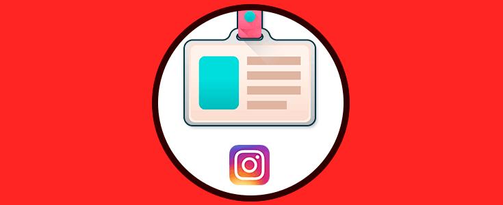 Cómo personalizar y usar tarjeta de identificación en Instagram ... 73a7ba9d9db