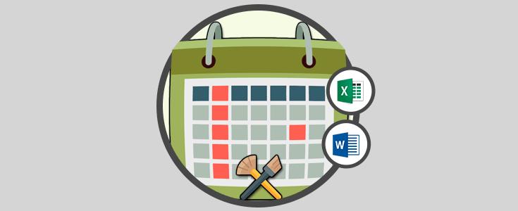 Como Hacer Un Calendario En Word.Como Crear Calendario 2018 En Word O Excel 2016 Solvetic