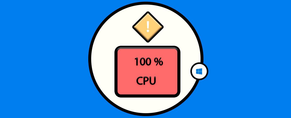 Cómo Arreglar Error De Alto Uso Disco Cpu 100 Windows 10