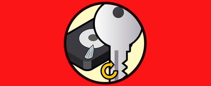 Cómo exportar y recuperar clave BitLocker Windows 10 - Solvetic